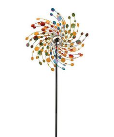 Look what I found on #zulily! Confetti Kinetic Stake #zulilyfinds