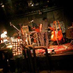 本日、恵比寿LIVE GATE TOKYOにて白井良明カルテットのLIVE!!はじけます!!