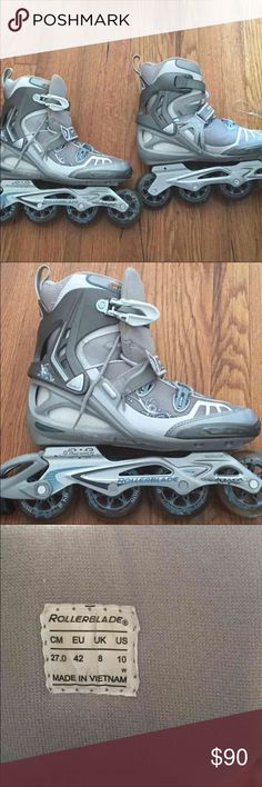 Rollerblades. Size 10 only used for 5 minutes. I bought them from another posher and I'm just too old. She said they were K2 line rollerblades and she paid 200 dollars for them. They were new. I only wore them for 5 minutes. They come with pads. No box tho 84 mm K2 Other
