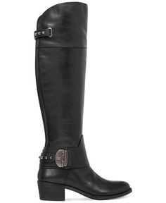 Vince Camuto Beatrix Over-The-Knee Riding Boots - Shoes - Macy's