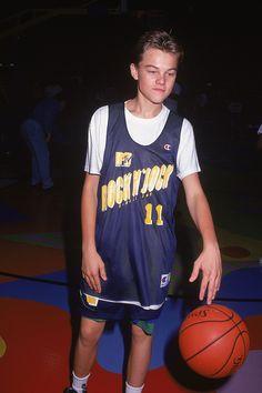Vintage Leonardo DiCaprio Pictures - Athletic Leo - Elle