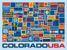 """DDC-062 """"Colorado Collected"""" Poster"""