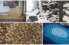 A beautiful rug can transform the space completely but as it is a versatile decor piece, it can be just as expensive. That is, unless you make one yourself from inexpensive materials. We love DIY p...