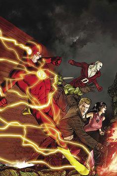 JUSTICE LEAGUE DARK #19 - The Flash, Frankenstein, John Constantine, Deadman & Madame Xanadu