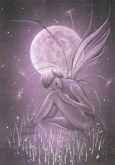 jessica galbreth | ... World, Fairy & Fantasy Art Gallery - Jessica Galbreth/Moon Petal