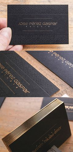 textured business card gold #GraphicDesign