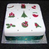[Trinkets Christmas cake]