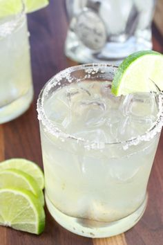 Classic Margaritas  from Miss in the Kitchen