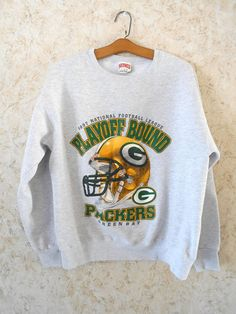 90s Green Bay Packers NFL Gray Crewneck Sweatshirt 1997 Packers Sweatshirt d228c9a19