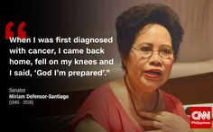 The country mourns the loss of one of the greatest lawmakers, Sen. Hugot Lines Tagalog Funny, Miriam Defensor Santiago, Deployment Countdown, Hugot Quotes, Pick Up Lines, Gods Promises, Badass Quotes, English Quotes, Pinoy