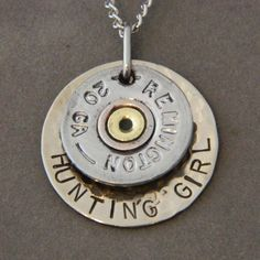 Shotgun necklace. could stamp my name on it   # Pin++ for Pinterest #