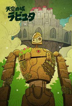 Laputa: Castle in the Sky by cheshirecatart.deviantart.com on @deviantART