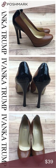 0c5f13cf7a3 💕SALE💕 Ivanka Trump Brown   Black Pumps Gorgeous 💕 Ivanka Trump Brown    Black