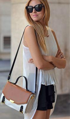 Cute colorblock bag