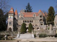 Bory Castle - About Hungary Heart Of Europe, Humble Abode, Homeland, Budapest, Places To Visit, London, Mansions, Architecture, House Styles