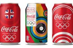 可口可樂 2012 倫敦奧運瓶身設計