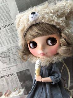 ★Custom BLYTHE  icecream ★ カスタムブライス_画像