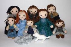 Stark's family. Game of Thrones