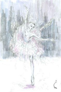 'Swan Lake' by Naarah Han - Ballet, балет, Ballett, Ballerina, Балерина, Ballarina, Dancer, Dance, Danza, Danse, Dansa, Танцуйте, Dancing