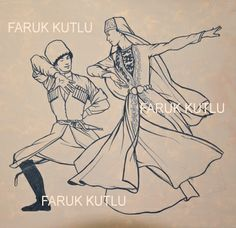 Faruk Kutlu,  chechen dance Arm Art, Drawing Anime Clothes, Acrylic Painting Techniques, Foil Art, My Land, Anime Outfits, Embroidery Patterns, Georgia, Culture