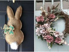 Grapevine Wreath, Grape Vines, Projects To Try, Easter, Wreaths, Home Decor, Fairy, Decoration, Garden