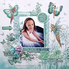 """<p>Hello everybody, Emmy here today with my third and finalproject for November. It is another layout full with fairies, butterflies, silver elements and flowers of course. All the papers are from Kaisercraft """"Fairy Dust"""" collectionand you can find all of the embellishments at Merly Impressions online store.For my background I <a href="""" http://www.merlyimpressions.co.uk/blog/project-portfolio/scrapbooking/believe-in-fairies-with-fairy-dust/ """"> …click to read more</a></p>"""