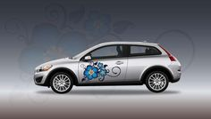 Photo of Blue In Bloom | High-Def Vehicle Decal