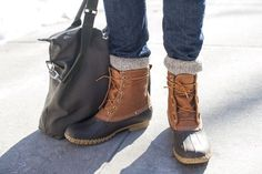 Got to have duck boots for winter