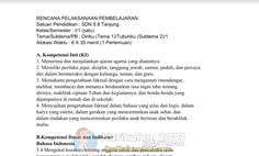 RPP Kelas 1 Kurikulum 2013 Semua Pembelajaran Revisi Baru Tahun 2016