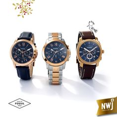 Our Men's Fossil Collection never fails to surprise and delight...