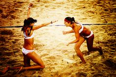 """Misty May Treanor and Kerry Walsh Jennings won their 3rd Olympic Gold Medal last night. Give it up for this awesome duo! The definition of """"Girl Power!"""""""