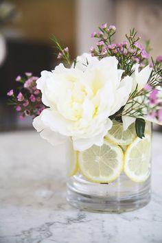 How To: Make a Citrus Flower Arrangement