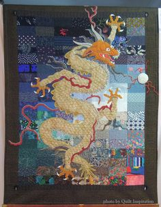 "Things Chinese, 68 x 75"", by Bonita McFadden (California).  Photo by Quilt Inspiration."