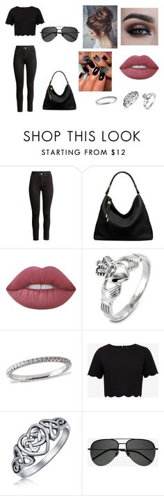 """""""Going shopping With friends for Valentines Day"""" by sarapotter98 ❤ liked on Polyvore featuring Michael Kors, Lime Crime, West Coast Jewelry, Ted Baker, Bling Jewelry and Yves Saint Laurent"""