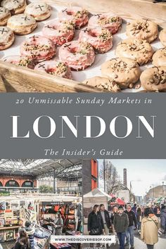 Foodie Travel 417427459210984271 - Planning your Sunday in London? Start with these cool London Sunday markets – 20 cool markets dotted around the capital for you to explore! weekend in London I London sights I London markets Source by mcmcolin London Market, London Shopping, London Travel, Shopping Travel, Travel Portland, London England Travel, Copenhagen Travel, London Pubs, London Places
