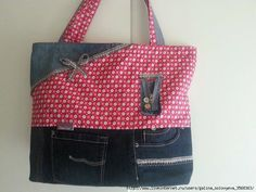 2411ff709343 Denim bags .. Discussion on LiveInternet - Russian Service Online diary  Jean Purses