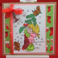 Tinas kreative Seite - #17 von 24 Squares for Christmas