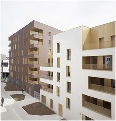 Immeuble de logement, TVK Architectes. ZAC du Chaperon Vert, Arcueil.   Flickr - Photo Sharing!