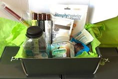 <p>Enjoy protein-packed snacks and samples sent to your door, monthly!</p>