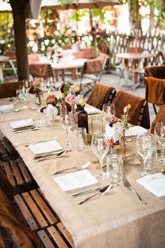 southern california wedding, orange county wedding, outdoor wedding inspiration, white wedding details, burlap wedding inspiration