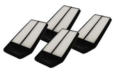 4 Rigid Panel Air Filters 1.57 x 5.92 x 13.5 - Fits Honda, Acura, & More. Part # A25503 & CA9564