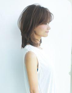 大人、ミセスのミディアムヘアパーマ(YR-363) | ヘアカタログ・髪型・ヘアスタイル|AFLOAT(アフロート)表参道・銀座・名古屋の美容室・美容院