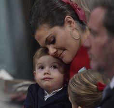 Prince Gabriel gets christened at Drottningholm Church