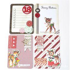 Vintage Kitschy Digital Diecuts for Project Life Filler Cards - Scrapbook Designs, Scrapbook Page Layouts, Scrapbook Pages, Pocket Scrapbooking, Digital Scrapbooking, Fancy Buttons, Vintage Scrapbook, Vintage Glam, Planner Organization