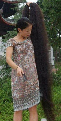 Bun Hairstyles For Long Hair, Braids For Long Hair, Indian Hairstyles, Really Long Hair, Super Long Hair, Beautiful Long Hair, Amazing Hair, Simply Beautiful, Long Indian Hair