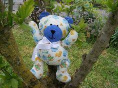 LEON doudou ours pour bébés et enfants : Jeux, peluches, doudous par 1-crochet-des-aiguilles