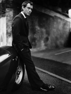 Jude Law by Paolo Roversi
