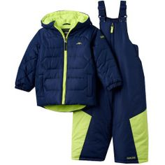 "2643087%3Fwid%3D800%26hei%3D800%26op_sharpen%3D1 Best Deal ""Toddler Boy Pacific Trail FleeceLined Heavyweight Quilted Puffer Jacket & Bib Snow Pants Snowsuit Set"