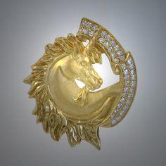 Diamond Unicorn brooch Unicorn Club, I Am A Unicorn, Magical Unicorn, Rainbow Unicorn, Unicorn Jewelry, Unicorn Crafts, Crown Jewels, Crystals And Gemstones, Jewelry Accessories