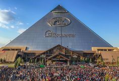 It's been a great day in Memphis, we'd like to thank everyone that came out and supported the Grand Opening of Bass Pro Shops at the Pyramid.  04/30/2015